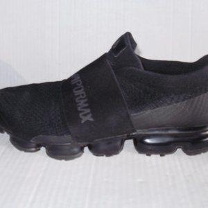 Nike Air Vapormax Flyknit Moc Triple Black…